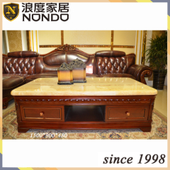 Luxury solid wood tea table designs S0001A