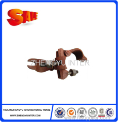 Ductile iron double bolt clamp for construction