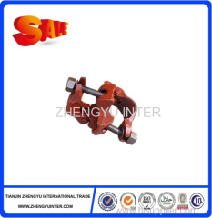 Scaffolding Frame Double Pipe Side By Side Tubs Cross-Shaped Clamps for steel pipes