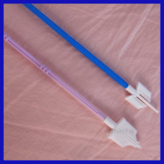medical disposable cytology brush for cell tissue sampling