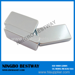 N35 Permanent NdFeB Magnet L15mmxW7mmxT5mm Ni coating