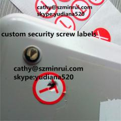 printing self adhesive label sticker