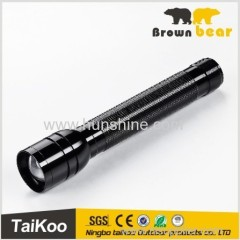 XML T6 tactical flashlight zoomable long beam torch