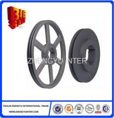 Hot sell coated sand Iron Pulleys Casting Parts