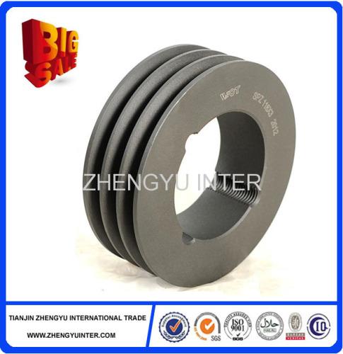 OEM custom cast iron pulley wheel