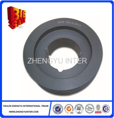 New style coated sand cast iron pulley casting parts