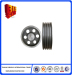 Foundry supply Resin sand casting ductile iron V belt pulley Casting Parts customized