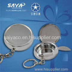 Custom design metal souvenir ashtray with wholesale price