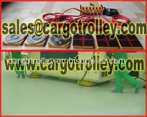 Air casters skates details