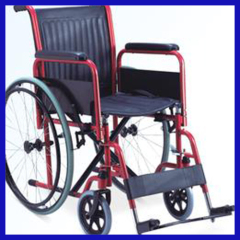 electroplated foldable lightweight hospital wheelchair