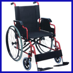 manual foldable wheelchair for disabled