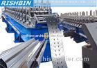 Galvanized Steel Rack / Cable Tray Roll Forming Equipment with Servo Feeding System
