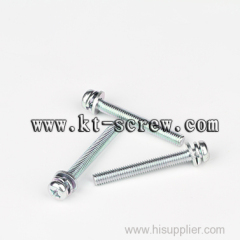 pan head cross recessed drive black half machine screw