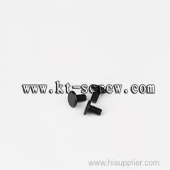 black small wire nail hexagon socket flat head cap machine screw