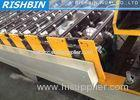 20 mm Thickness Floor Tile Roll Forming Machine / Roof Sheet Making Machine