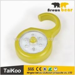 mini portable work led light with hook 6leds