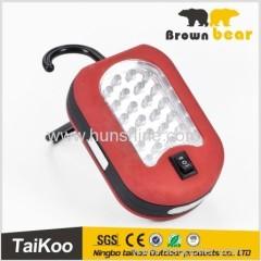 hook magnet 60w led work light with 24+3 leds