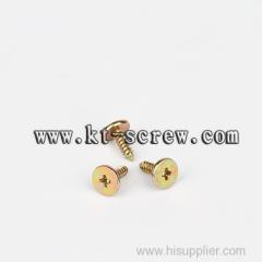 indented hexagon washer head phillips drive brass machine screw