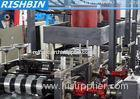 Flying Saw Cutting Florecent Fitting Profile Roll Forming Machinery with Post Punching