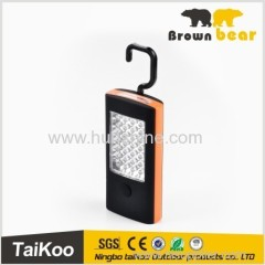 fashionable and newest led portable work light with 28+3leds