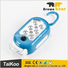 fashionable portable led hid work light with 6+2+1leds