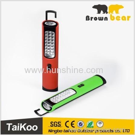 fashionable portable led work lamp with1w led+10led