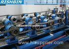 Drived by Gear Box Roll Forming Machine for Purlin Exhibition Hall / Warehouse