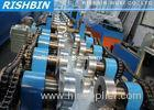 20 KW C Z Channel Purlin Roll Forming Machine with 12 - 14 m / min Carbon Steel