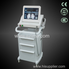 2015 New model high intensity focused ultrasound HIFU face lift anti wrinkle removal machine