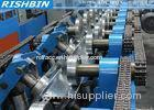 Heat Treatment C Z Purlin Roll Forming Machine With Cr12 Punching Device for PEB