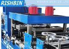 13 Stations Florecent Fitting Profile Metal Forming Equipment with Hydraulic Punching