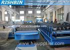 PBR / PBU Aluminium Roof Panel Roll Forming Machine 5.5 KW , Roll Forming Equipment