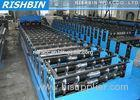 Pressing Mould Metal Roof Panel Roll Forming Machine With 18 - 24 stations for Roof