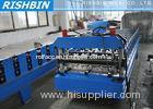 Aluminium Roofing Sheet AG Roof Panel Roll Forming Machine with 7.5 KW Main Power