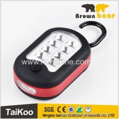 new style factory price 8 smd leds 3*AAA battery auto work light