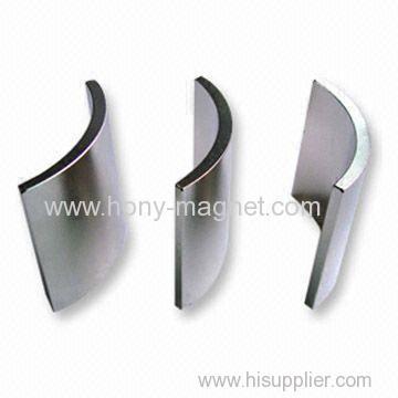 N50 arc power neodymium generator magnet