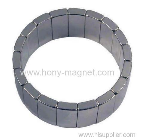 Neodymium Arc NdFeB Magnet for Motor and Speaker