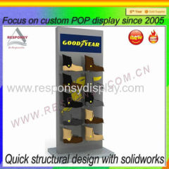 China boots shoes furniture for shoe store shoe display stand