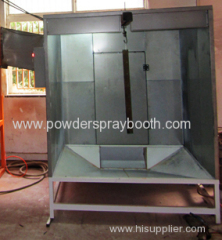 Mono-cyclone+ after filters recovery system powder spray booth