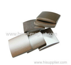 Neodymium Iron Boron Motor Arc Magnets for Magnetic Hooks