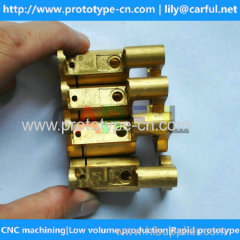 high quality 4 axis 5 axis machining brass parts with high precision