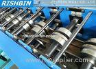 G.i Coil / Carbon Steel Track Door Frame Roll Forming Machine Hydraulic system