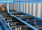 Chain Driven Transmission Rack Shelf Frame Roll Forming Machine with Servo Feeding System