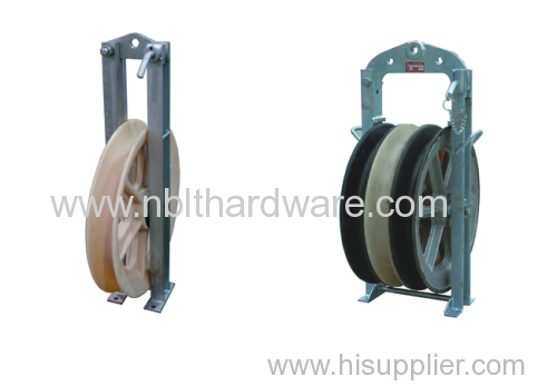 508 Large Diameter Nylon Stringing Block / Stringing Pulley