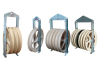 822 Large Diameter Nylon Stringing Block / Stringing Pulley