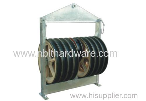 916 Large Diameter Nylon Stringing Block / Stringing Pulley