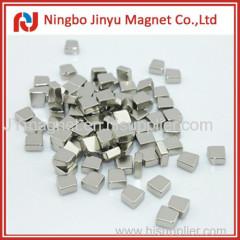 N35 neodymium magnet with miner cube