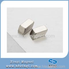 Precision magnet Neodymium Iron Boron rhomboid shape permanent magnets Nickel plated