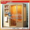 Home use wooden Infrared Sauna Room carbin