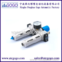 Air source treatment unit manual auto drain Air filter regulator lubricator Festo type MINI MIDI MAXI FRL